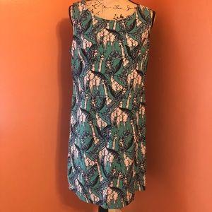 NWT Talbots giraffe dress size 10P